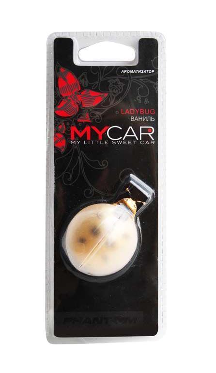 Ароматизатор Ladybug Vanilla. РН31313131Оригинальный ароматизатор нейтрализует посторонние запахи и наполняет воздух приятным свежим ароматом. Божья коровка является символом счастья и удачи. Крылья божьей коровки приходят в движение от потока воздуха, исходящего из дефлектора.