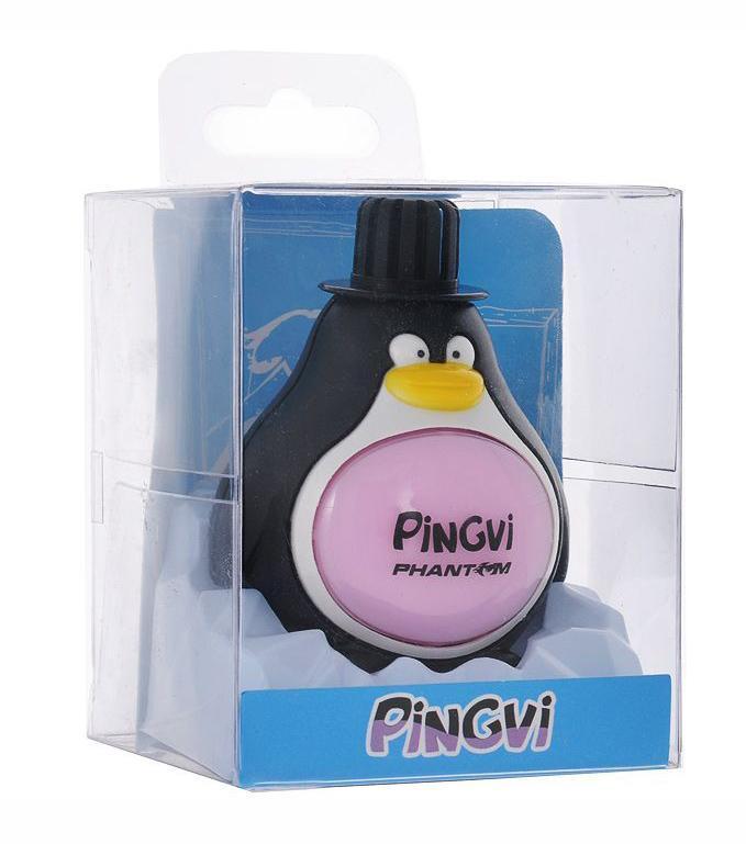 Ароматизатор PinGvi Орхидея, 45 млPH3183Ароматизатор Pingvi предназначен для придания приятного запаха орхидеи воздуху в вашем доме, машине, офисе. Стойкий аромат до 50 дней. Ароматизатор выполнен в виде пингвина. Инструкция по применению: 1. Снимите внешнюю крышку и удалите внутреннюю крышку. 2. Плотно закрепите внешнюю крышку на теле ароматизатора. 3. Закрепите ароматизатор на любой чистой, плоской, сухой поверхности, используя клейкую основу. Внимание! Храните продукт в местах, недоступных для детей и домашних животных. Избегайте контакта с глазами. Не употреблять в пищу. Характеристики: Материал: пластик, ароматическая отдушка. Размер упаковки: 7 см х 7 см х 9 см. Цвет: черный, белый. Артикул: PH3183.