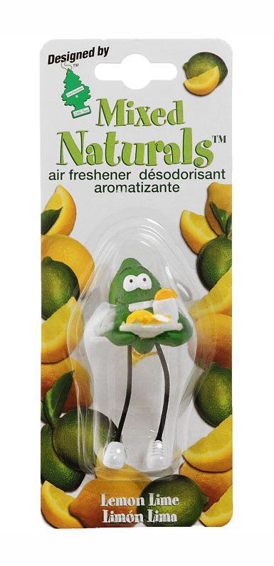 Ароматизатор Car-Freshner Mixed Naturals Лайм с лимономCTK-51803Оригинальный ароматизатор Car-Freshner Mixed Naturals, выполненный в виде забавной фигурки, эффективно нейтрализует посторонние запахи и наполняет воздух яркими насыщенными ароматами. Подвесьте ароматизатор за шнурок в любом удобном месте - в салоне автомобиля, дома или в офисе - и получайте удовольствие! Характеристики: Размер ароматизатора: 8 см x 4 см x 4 см Изготовитель: Китай Артикул: CTK-51802