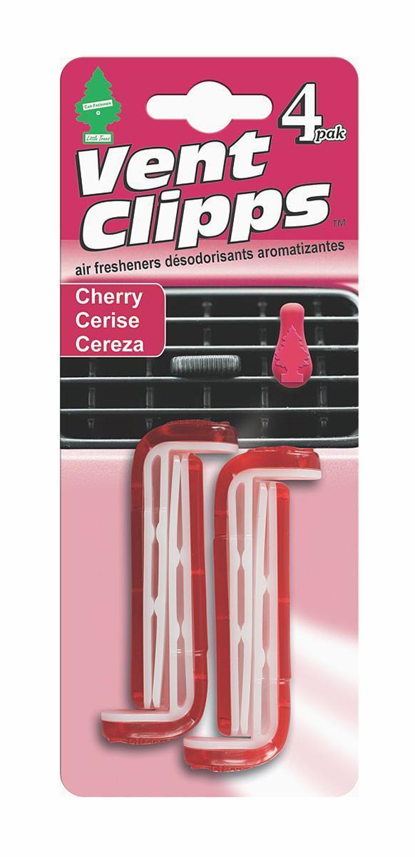 Ароматизатор Car-Freshner Vent Clipps аромат Cherry (Вишня)U1P-17711Car-Freshner Vent Clipps устанавливается в дефлектор вентиляции автомобиля. Уникален по эффективности действия, насыщенности и стойкости запаха. В упаковке 4 штуки.