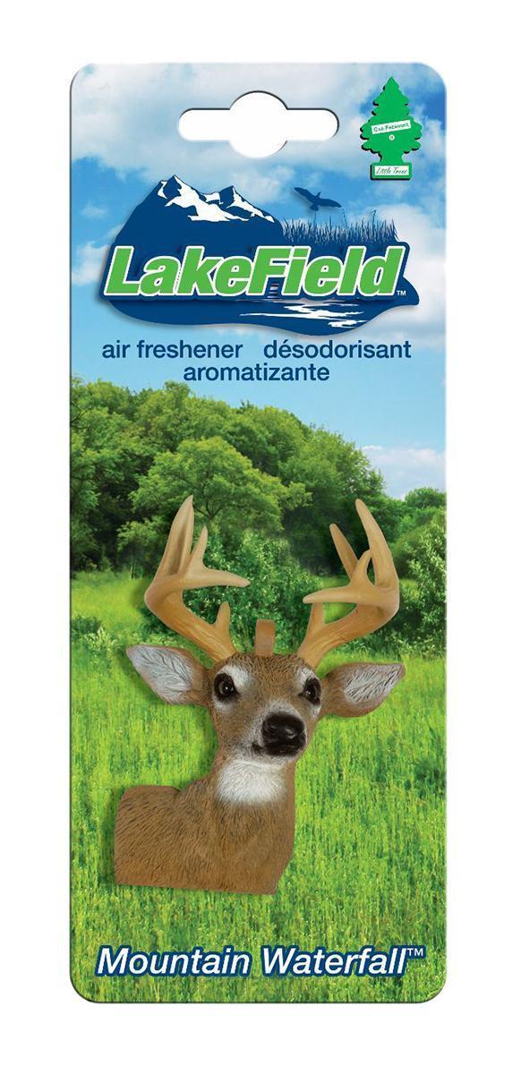 Ароматизатор Car-Freshner LakeField ОленьCTK-50921-24Оригинальный ароматизатор Car-Freshner выполнен в виде головы оленя. Он эффективно нейтрализует посторонние запахи и наполняет воздух приятными свежим ароматом. Подвесьте ароматизатор за шнурок в любом удобном месте - в салоне автомобиля, дома или в офисе - и получайте удовольствие! Характеристики: Размер ароматизатора: 6 см x 4 см x 2 см. Производитель: США. Изготовитель: Китай. Размер упаковки: 19 см х 7,5 см х 3 см. Артикул: CTK-50921-24.