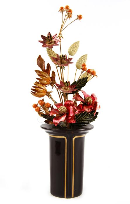 Композиция Осенний букет. Металл, эмаль. House of Faberge, 90-е гг. ХХ века
