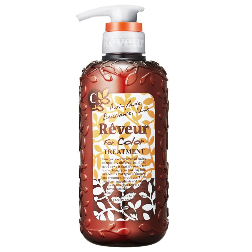 Reveur Кондиционер For Color, для окрашенных волос, 500 мл03333Кондиционер Reveur «For Color» создан на основе трех специальных природных компонентов для защиты цвета и 14 растительных экстрактов для восстановления повреждений окрашенных волос. Смягчающий компонент на основе коллагена делает волосы невероятно мягкими и послушными. Силикон, содержащийся в кондиционере, запечатывает полезные компоненты на ваших волосах до следующего мытья головы. Имеет свежий и утонченный аромат. Рекомендуется использовать вместе с шампунем Reveur «For Color». Рекомендуется для: – окрашенных или осветленных волос; – поврежденных волос; – защиты цвета после окрашивания. Товар сертифицирован.