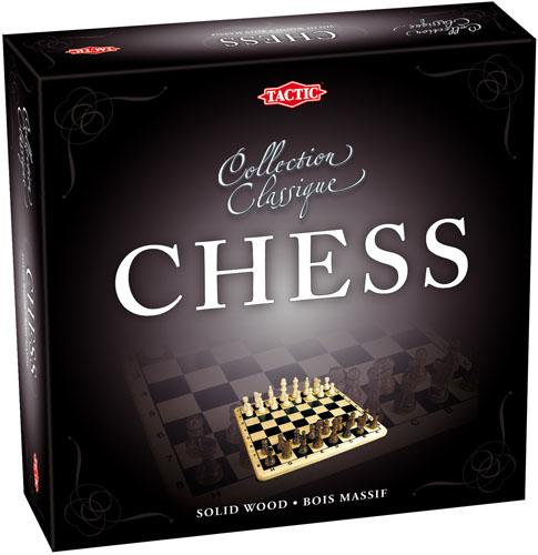 Tactic Games Шахматы Коллекционная серия40218NКлассическая настольная игра для двоих. Тактика и стратегия понадобятся вам в этой игре, которая привлекает большое количество людей всех возрастов во всем мире. Двигайте свои шахматные фигуры по игровому полю и постарайтесь поставить Вашему оппоненту шах и мат до того, как он вас обыграет. Эта игра станет отличным подарком. Упакована в стильную коробку, фигуры и игровое поле выполнены из дерева. Размер поля 16х16.