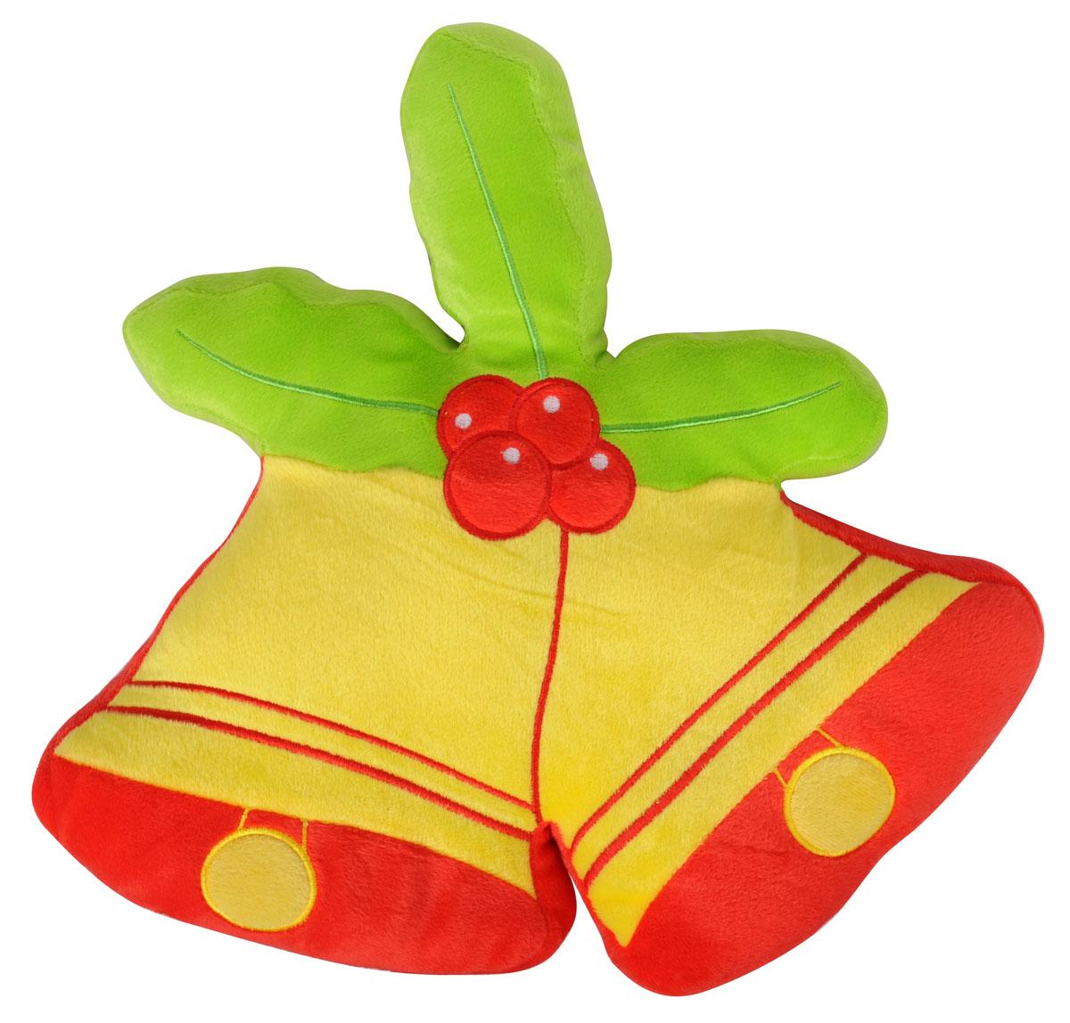 Подушка декоративная Home Queen Колокольчики, 38 х 36 см59665Декоративная подушка Home Queen Колокольчики - это и игрушка, и предмет интерьера, и оригинальная подушка для автомобиля. Чехол подушки выполнен из полиэстровой ворсистой ткани. Внутри мягкий синтепоновый наполнитель. Красивая оригинальная подушка станет хорошим подарком и обязательно порадует получателя. Материал верха: 100% полиэстер. Наполнитель: синтепон. Размер подушки: 38 см х 36 см.
