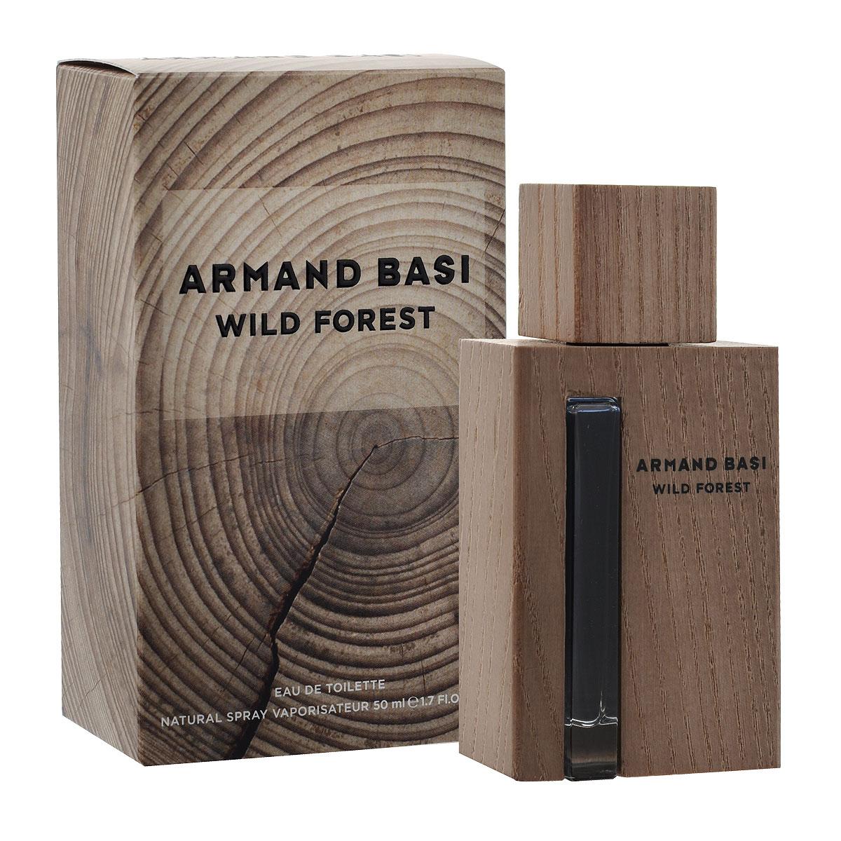 Armand Basi Туалетная вода Wild Forest, мужская, 50 мл48574Wild Forest - новый мужской аромат от Armand Basi, созданный благодаря вдохновению от самого благородного элемента: дерева. Природа прекрасна и непредсказуема. Она несет в себе жизнь. И дерево лучшее доказательство этого ее качества. Мужчина Armand Basi обладает естественной элегантностью, которая проявляется через его отношения с природой. Он прекрасно знает, что все природное безупречно по определению и видит воплощение этой природной, натуральной и несовершенной красоты в дереве. В мире стрессов Wild Forest - его островок, место, где мужчина может обрести себя и освободить свою настоящую, дикую сторону личности. Это может быть лес, это может быть комната, но в первую очередь это место находится в его сознании. Личный теплый, персональный оазис. Неправильная форма дерева, рисунок его внутренних колец, проявляющийся с годами, цвет, вызванный воздействием света, текстура, меняющаяся под воздействием климатических условий, трещины на его поверхности, - все это вместе...