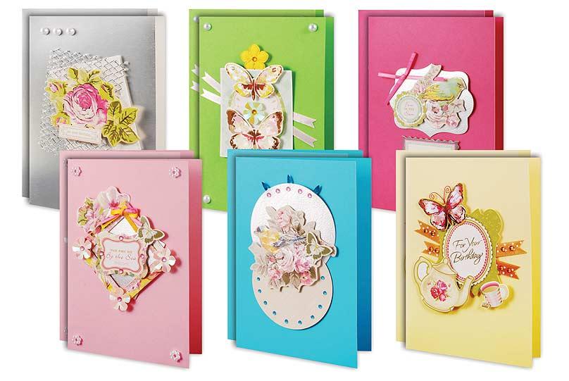 Набор для создания открыток Весеннее настроение300-SB Набор для создания 12-ти открытокВесеннее настроениеНабор для создания открыток Весеннее настроение - это увлекательный набор для творчества, с помощью которого вы или ваш ребенок сможете своими руками создать открытки к различным праздникам. В набор входит: - 12 заготовок для открыток, - 12 конвертов, - 12 поздравлений, - клеевые подушечки, - декоративные элементы (вырубка из бумаги, ленты, пайетки, стразы, полубусины). Набор рассчитан на создание 12 открыток. Скрапбукинг - это хобби, которое способно приносить массу приятных эмоций не только человеку, который этим занимается, но и его близким, друзьям, родным. Это невероятно увлекательное занятие, которое поможет вам сохранить наиболее памятные и яркие моменты вашей жизни.