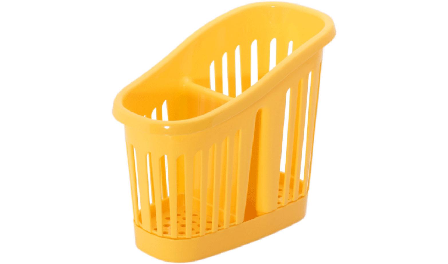 Сушилка для столовых приборов 2-секционная, ЖелтыйМ 1165Сушилка для столовых приборов 2-секционная, Желтый
