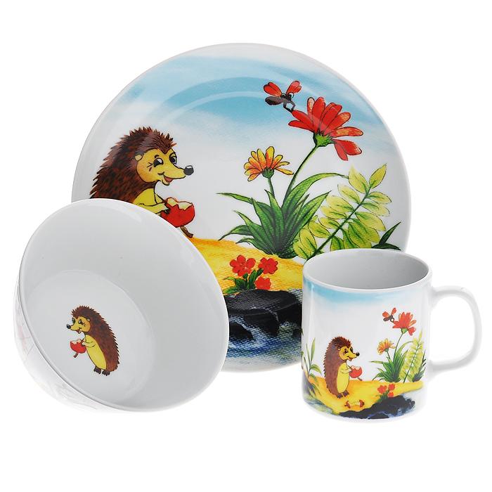 Набор детской посуды Legendale, 3 предмета. SHS4943