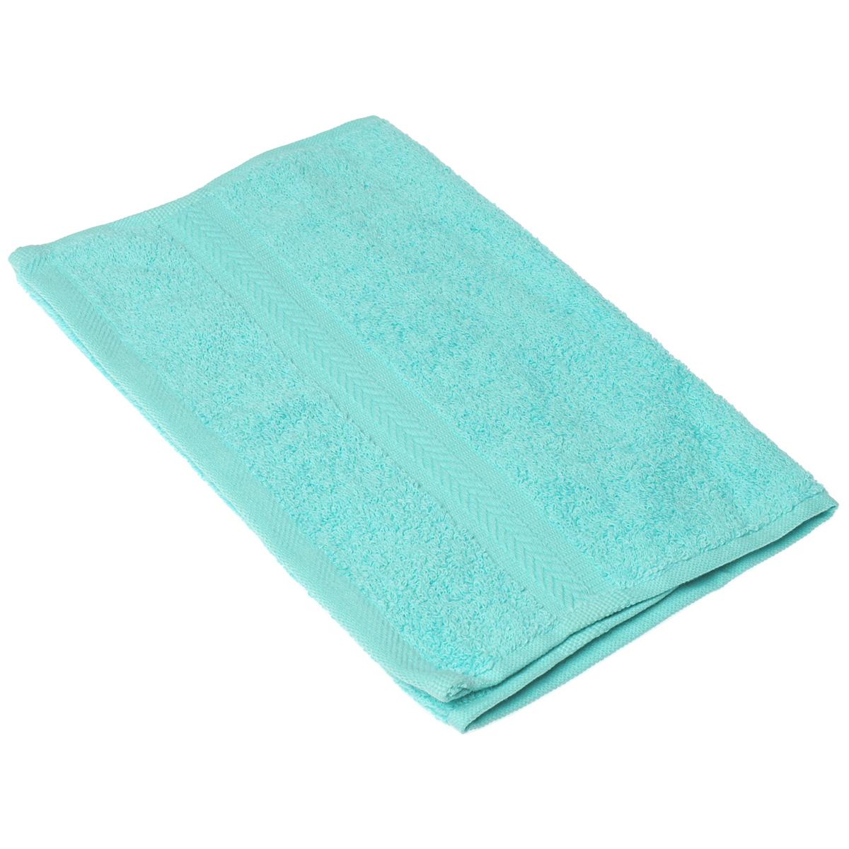 Полотенце махровое Coronet Классик, цвет: бирюзовый, 30 х 50 смБ-МП-1020-08-11Махровое полотенце Coronet Классик, изготовленное из натурального хлопка, подарит массу положительных эмоций и приятных ощущений. Полотенце отличается нежностью и мягкостью материала, утонченным дизайном и превосходным качеством. Оно прекрасно впитывает влагу, быстро сохнет и не теряет своих свойств после многократных стирок. Махровое полотенце Coronet Классик станет достойным выбором для вас и приятным подарком для ваших близких. Мягкость и высокое качество материала, из которого изготовлены полотенца, не оставит вас равнодушными.