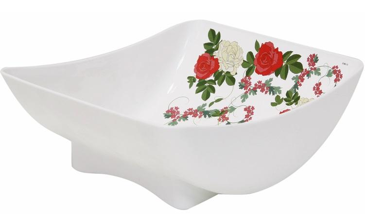 Салатник Idea Розы, 450 млМ 1332Салатник Idea Розы изготовлен из высококачественного пластика и идеально подходит для сервировки стола. Такой салатник не только украсит ваш кухонный стол и подчеркнет прекрасный вкус хозяйки, но и станет отличным подарком.