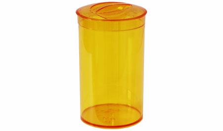 Банка 1л Кристалл для сыпучих продуктов, Оранжевый прозрачныйМ 1372Банка 1л Кристалл для сыпучих продуктов, Оранжевый прозрачный