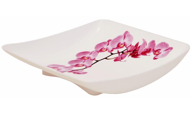 Блюдо Idea Деко. Орхидея, 24 х 25 смМ 1334Блюдо Idea Деко. Орхидея, выполненное из высококачественного полипропилена, непременно придется вам по вкусу и добавит красок в интерьер вашей кухни. Изделие будет изящно смотреться на столе и порадует функциональностью. Блюдо не только украсит ваш стол и подчеркнет прекрасный вкус хозяйки, но и станет отличным подарком к любому празднику. Размер (по верхнему краю): 24 х 25 см.