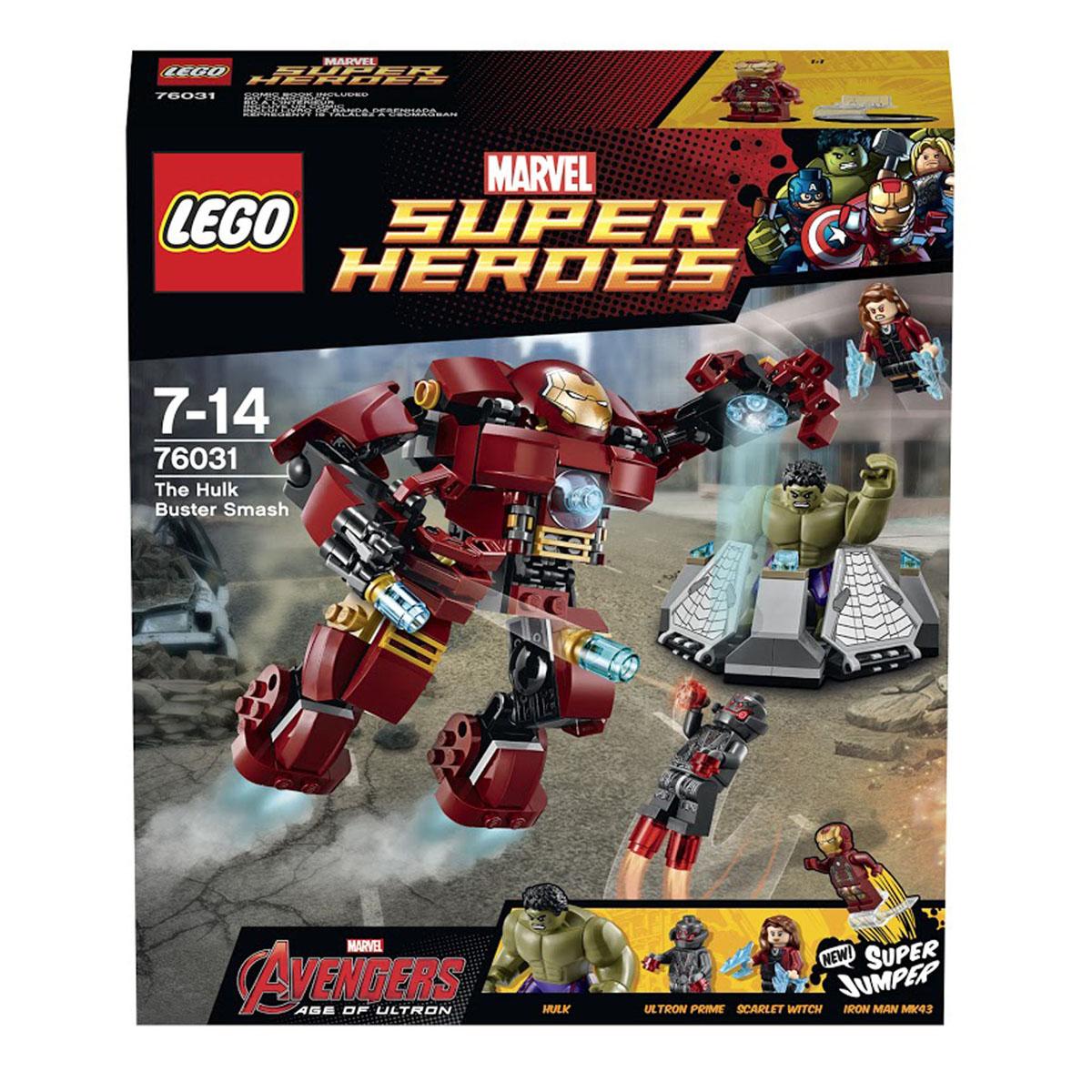 LEGO Super Heroes Конструктор Разгром Халкбастера 76031