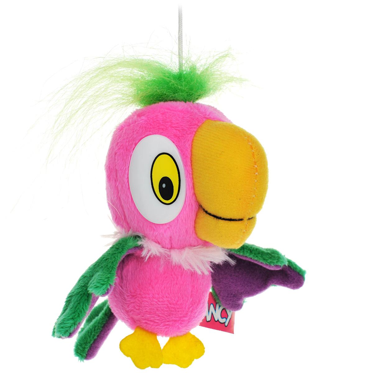 Мягкая игрушка Fancy Попугай Кеша, 12 смПКУ0Мягкая игрушка Fancy Попугай Кеша выполнена в виде попугая Кеши - одного из главных героев любимого многими мультфильма Возвращение блудного попугая. Игрушка изготовлена из мягкого искусственного меха с пластиковыми глазками. На голове у игрушки имеется текстильная петелька высотой 5 см. Необычайно мягкая игрушка принесет радость и подарит своему обладателю мгновения нежных объятий и приятных воспоминаний.