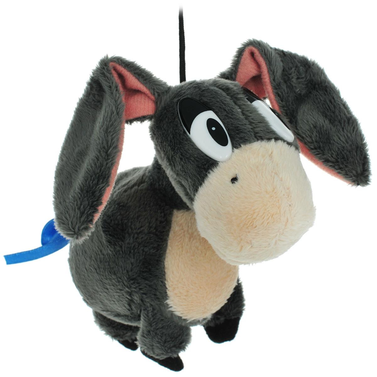 Мягкая игрушка Fancy Ослик Иа-Иа, 11 смОСЛУ0Мягкая игрушка Fancy Ослик Иа-Иа выполнена в виде ослика Иа - одного из главных героев любимого многими мультфильма о приключениях Винни Пуха. Игрушка изготовлена из плюшa. Хвостик ослика перевязан синей атласной ленточкой. На голове у ослика есть текстильная веревочка высотой 5 см. Необычайно мягкая игрушка принесет радость и подарит своему обладателю мгновения нежных объятий и приятных воспоминаний.