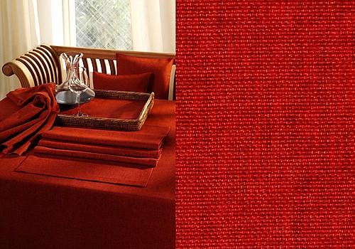 Скатерть Schaefer, круглая, цвет: красный, диаметр 170 см. 41294129/Fb.04-170Великолепная скатерть Schaefer, выполненная из полиэстера, органично впишется в интерьер любого помещения, а оригинальный дизайн удовлетворит даже самый изысканный вкус. Изделие легко стирать и гладить, не требует специального ухода. Это текстильное изделие станет удобным и оригинальным украшением вашего дома! Изысканный текстиль от немецкой компании Schaefer - это красота, стиль и уют в вашем доме. Дарите себе и близким красоту каждый день!