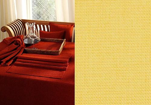 Скатерть Schaefer, прямоугольная, цвет: желтый, 135 x 220 см. 41294129/Fb.05-135*220Великолепная скатерть Schaefer, выполненная из полиэстера, органично впишется в интерьер любого помещения, а оригинальный дизайн удовлетворит даже самый изысканный вкус. Изделие легко стирать и гладить, не требует специального ухода. Это текстильное изделие станет удобным и оригинальным украшением вашего дома! Изысканный текстиль от немецкой компании Schaefer - это красота, стиль и уют в вашем доме. Дарите себе и близким красоту каждый день!