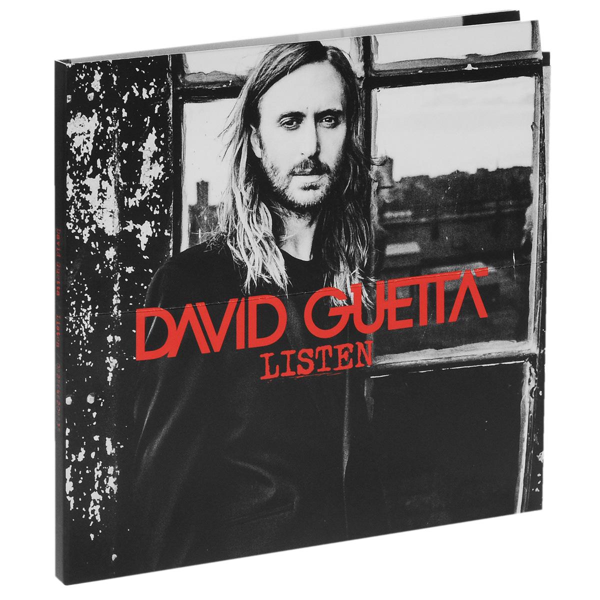 David Guetta. Listen. Limited Edition (2 CD) 2014 2 Audio CD