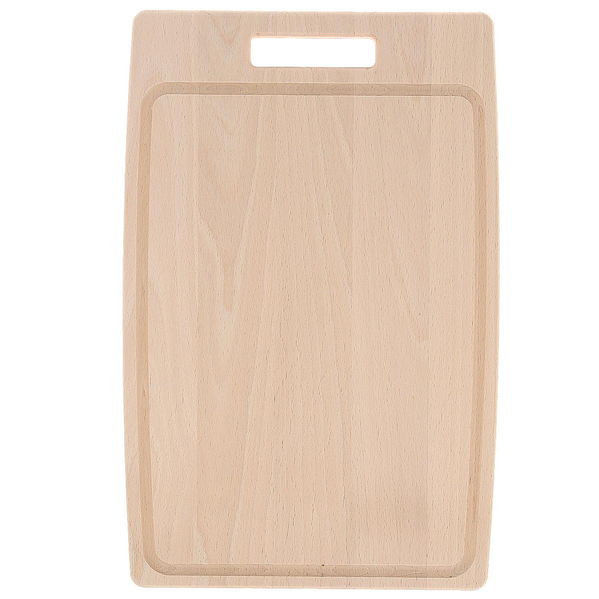 Доска разделочная Tescoma Home Profi, 40 х 26 см379516Прямоугольная разделочная доска Tescoma Home Profi изготовлена из высококачественной древесины бука. Бук - это особо прочный материал, который прослужит вам долгие годы. Доска оснащена удобной ручкой. Функциональная и простая в использовании, разделочная доска Tescoma Home Profi прекрасно впишется в интерьер любой кухни. Не мыть в посудомоечной машине.