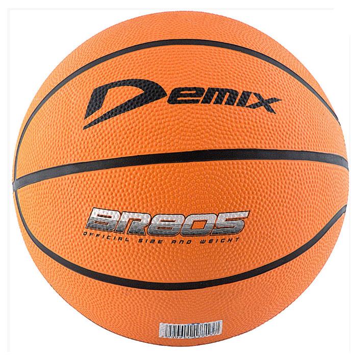 "Demix Мяч баскетбольный Demix ""Basketball"", цвет: оранжевый. Размер 5"