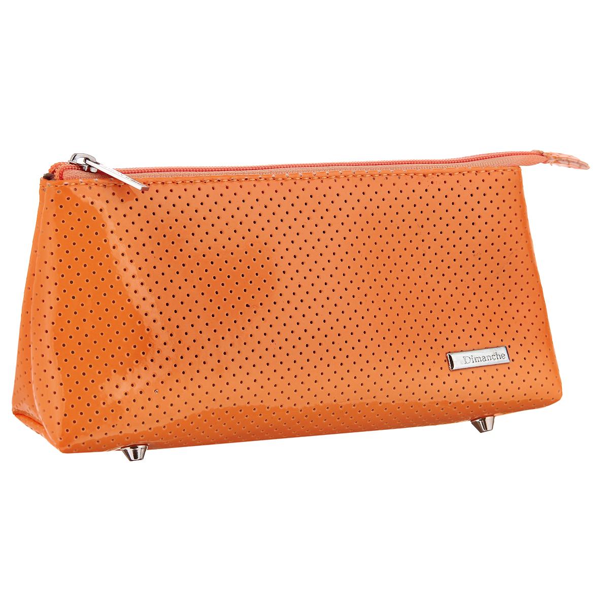 Косметичка Dimanche, цвет: оранжевый. 276