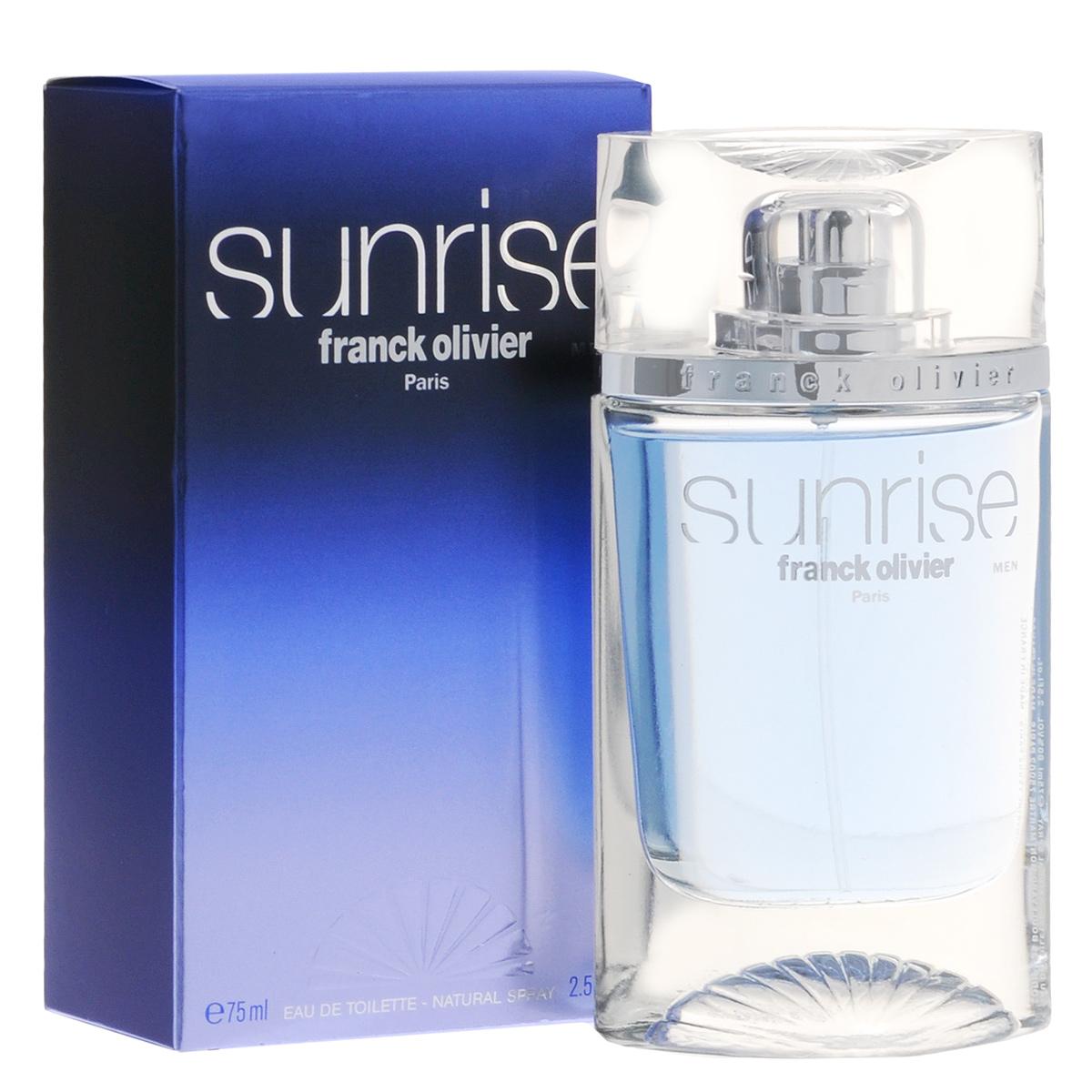 """Franck Olivier Туалетная вода """"Sunrise"""", мужская, 75 мл 45535"""