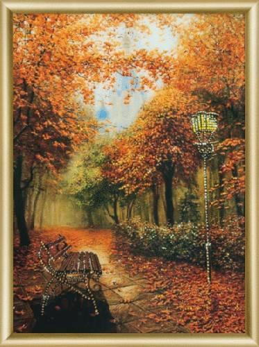 Набор для изготовления картины со стразами Золотая осень, 30,3 х 42 см КС-095547226Набор Золотая осень поможет отвлечься от повседневных забот и рутинных будней. В наборе уже имеется готовая картина с рамкой, вам нужно лишь прикрепить к ней стразы. Вы получите удивительную картину, которая будет обладать необычной фактурой, отличаться блеском и красочностью оттенков. В набор входит: - стекло полистирол с изображением, - стразы Preciosa, - клей для страз, - восковый карандаш, - рамка, - инструкция. Картина со стразами, изготовленная своими руками, создаст в вашем доме уют и тепло. Вы получите истинное удовольствие от погружения в процесс творчества и сможете стать настоящим художником и создателем прекрасных картин. Техника изготовления картин со стразами прекрасно развивает художественный вкус, аккуратность и внимание. Размер готовой картины: 30,3 см х 42 см.