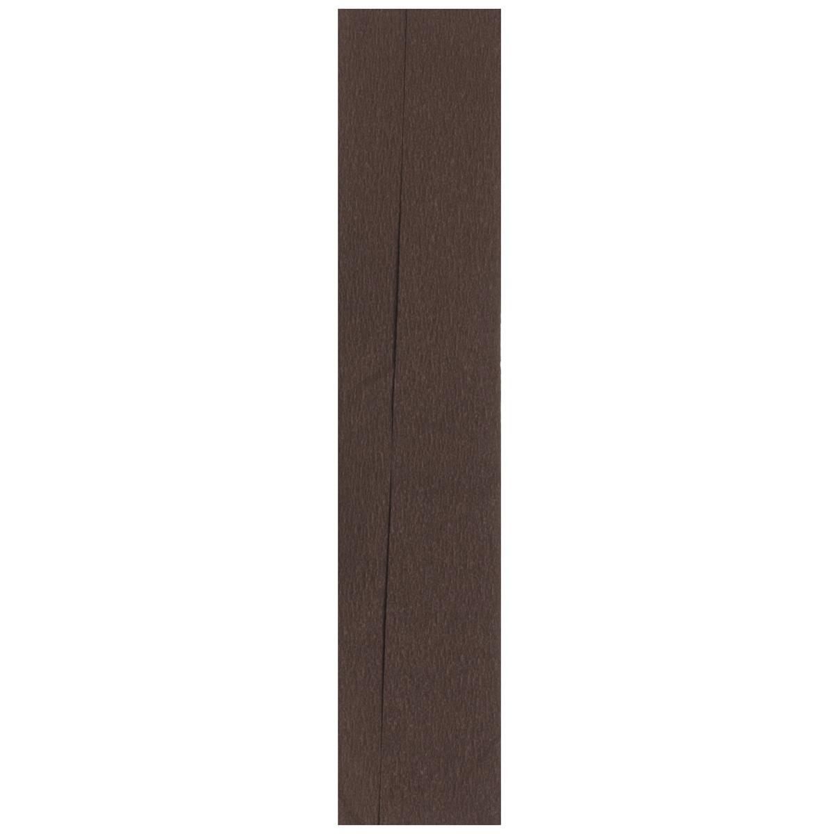 Бумага гофрированная Folia, цвет: шоколадный (15), 50 см x 2,5 м
