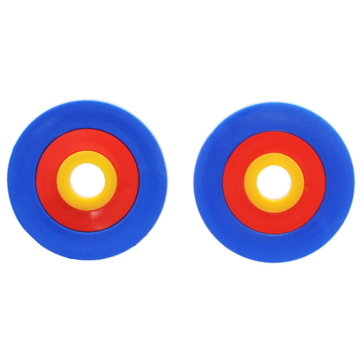 Кольца для помпонов RTOГТ054Кольца для помпонов RTO - интересный аксессуар для любительниц рукоделия, который упростит процесс изготовления помпонов. В наборе 3 пары колец разного диаметра. Размер кольца зависит от размера помпона, который вы хотите получить. Помпон будет равен диаметру кольца.