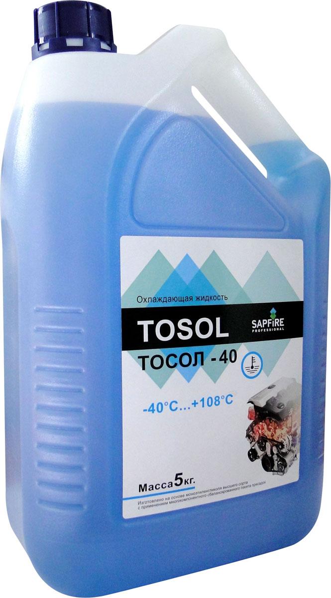 Тосол Sapfire, 5 кг0205-SEGТосол Sapfire изготовлен на основе моноэтиленгликоля высшего сорта с применением многокомпонентного сбалансированного пакета присадок. Благодаря специальному пигменту Тосол светится под ультрафиолетом, что позволяет найти место утечки. Совместим со всеми охлаждающими жидкостями, приготовленными на основе этиленгликоля. Особенности тосола: Коррозийная защита всех металлов, в том числе алюминия и сплавов, применяемых в двигателях отечественного и импортного производства. Улучшенная теплопроводность, обеспечивающая двигателю оптимальный температурный режим. Снятие накипи в системе охлаждения, образованной при использовании других жидкостей. Поддержание чистоты каналов в двигателе и радиаторе. Нейтральность к резиновым и неопреновым материалам. Сохранение заявленных показателей в течение всего срока эксплуатации. Состав: моноэтиленгликоль, пакет химических присадок, специально подготовленная вода, пигмент. Рабочая температура: от...