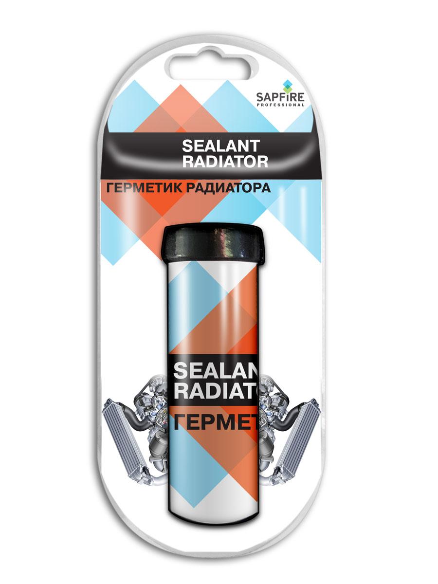 Герметик радиатора Sapfire, 50 г1543-SCMСредство Sapfire предназначено для быстрого и надежного ремонта пробоин радиатора из черных и цветных металлов, работающего при температурах от –60°С до +150°С. Обеспечивает надежный ремонт в условиях повышенной влажности, на влажных и замасленных поверхностях, при низких температурах (до -5°С) при условии замешивания смеси в теплом (не менее +5°С) помещении. Состав: эпоксидные смолы, аминовые смолы, минеральный и стальной наполнители.