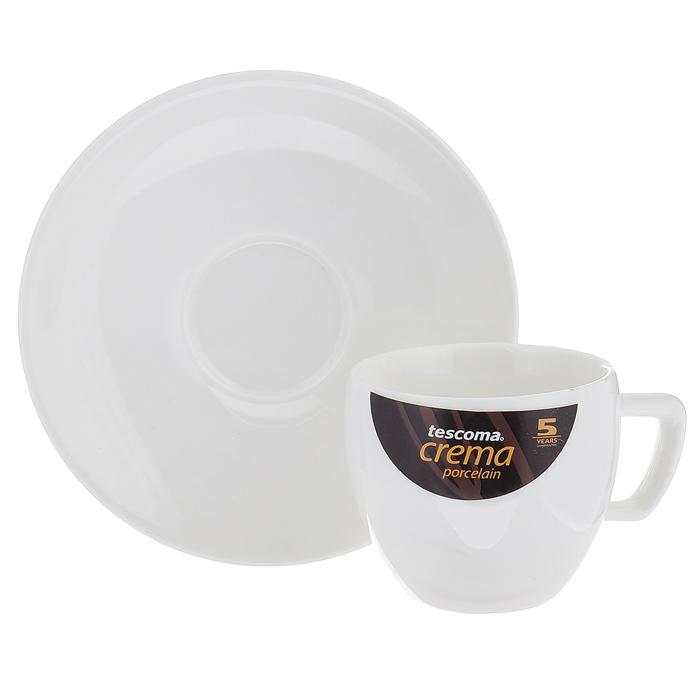 Чашка для эспрессо Tescoma Crema, с блюдцем387120