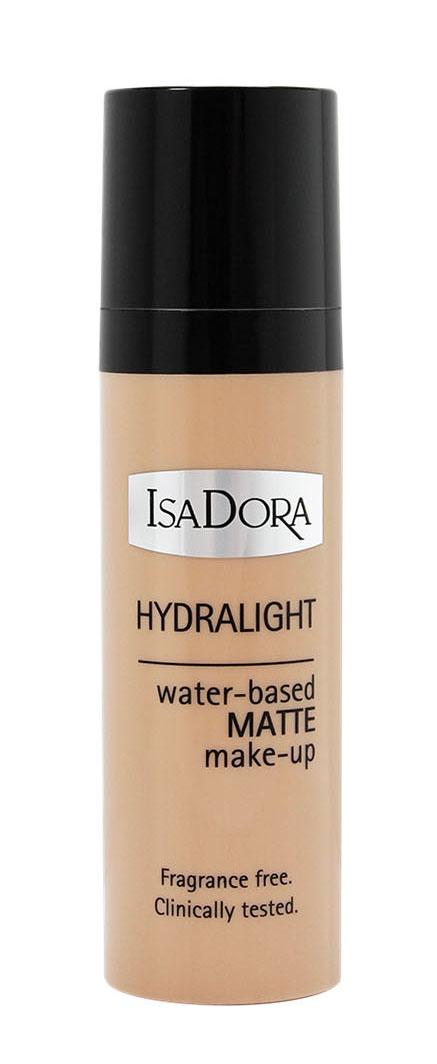 IsaDora Тональный крем Hydralight №62, на водной основе, 30 мл214262На водной основе - не содержит масел Ультра легкий - полупрозрачный, сливается с кожей матовый результат - без ощущения пудровости. Интенсивный увлажняющий комплекс- предотвращает потерю влаги и дает ощущение свежести в течение всего дня. Для всех типов кожи (включая комбинированную и жирную) без отдушек клинически тестировано. Товар сертифицирован.