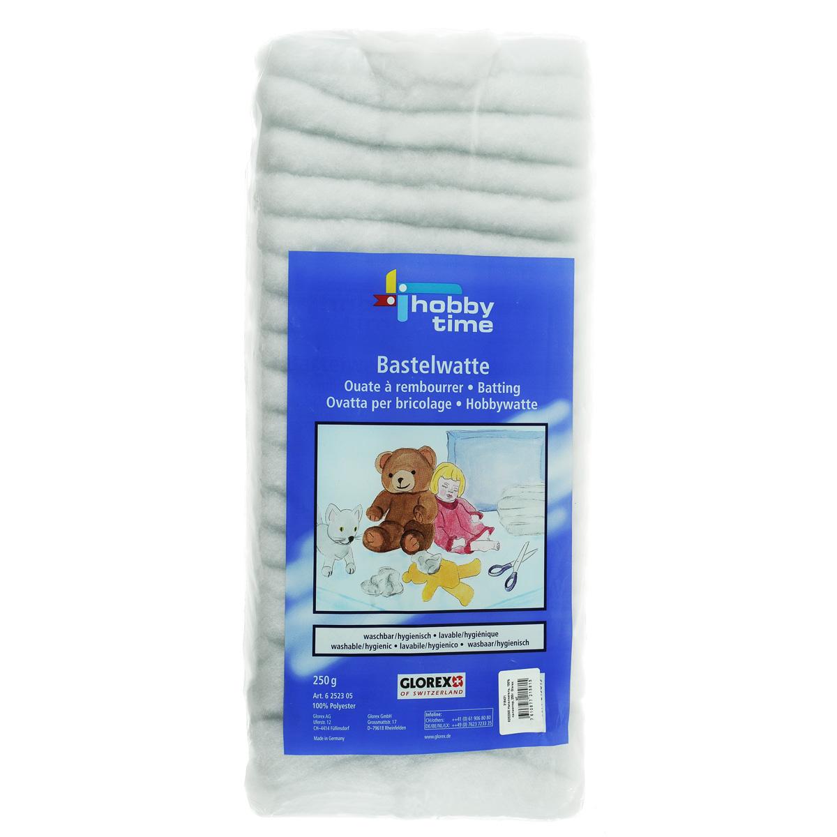 Наполнитель для набивки Glorex, 250 г318431Наполнитель Glorex выполнен из 100% полиэстера и используется для набивки подушек, одеял и игрушек. Это нетканое синтетическое полотно, состоящее из волокон и имеющее объемную структуру. Наполнитель имеет равномерную толщину на всей протяженности полотна и дает хорошую и равномерную усадку при обработке утюгом.