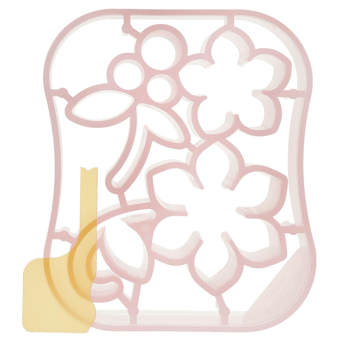 Форма для аппликаций и фильцевания Clover Цветы и ягоды526772Форма для аппликаций и фильцевания Clover Цветы и ягоды выполнена из цветного пластика и предназначена для создания аппликаций и трехмерного узора из шерсти. В комплект входит аппликатор для набивки. Позволяет создавать достаточно мелкие детали по шаблону в виде цветов и ягод. Полученное украшение идеально подойдет для декоративной отделки сумок, шляп и аксессуаров.