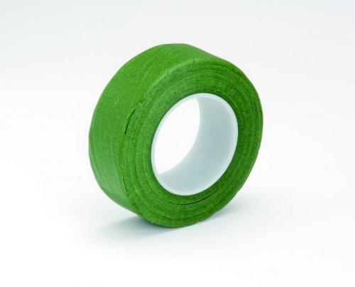 Лента флористическая Hobby Time, цвет: зеленый, ширина 25,4 мм, длина 28 м685216Флористическая лента Hobby Time - это тонкая эластичная лента в катушке с легким клеящим эффектом. Она липкая, тонкая, легкая, водонепроницаемая, хорошо растягивается. Лента бывает широкой и узкой. Широкая лента в основном используется для крепления к сосуду флористической губки, узкой лентой также иногда перекрещивается отверстие широкогорлового сосуда для закрепления растений. Флористическая лента может использоваться в квиллинге при изготовлении цветов на проволоке, конфетных деревьев, украшений из бисера, различного декора. В основном лента применяется для декорирования проволоки в букетах в соответствии с цветом букета. При намотке флористическую ленту необходимо немного натягивать, чтобы она лучше прилипала к стеблю цветка. Особенности флористической ленты: - Легко разглаживается и плотно прилегает к поверхности; - Принимает любую форму; - Позволяет продлить свежесть цветка, поэтому необходима при создании свадебных букетов и других...