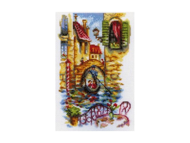 Набор для вышивания крестом РТО Живописные каналы Венеции, 15 см х 23 см. М294150148Набор для вышивания крестом РТО Живописные каналы Венеции поможет вам создать свой личный шедевр - красивую картину, вышитую нитками мулине в технике счетный крест/ полукрест. Работа, выполненная своими руками, станет отличным подарком для друзей и близких! Набор содержит: - канва Аида 14 белая (100% хлопок), - нитки мулине DMC (100% хлопок) - 31 цвета, - 1 игла, - черно-белая схема, - инструкция на русском языке.