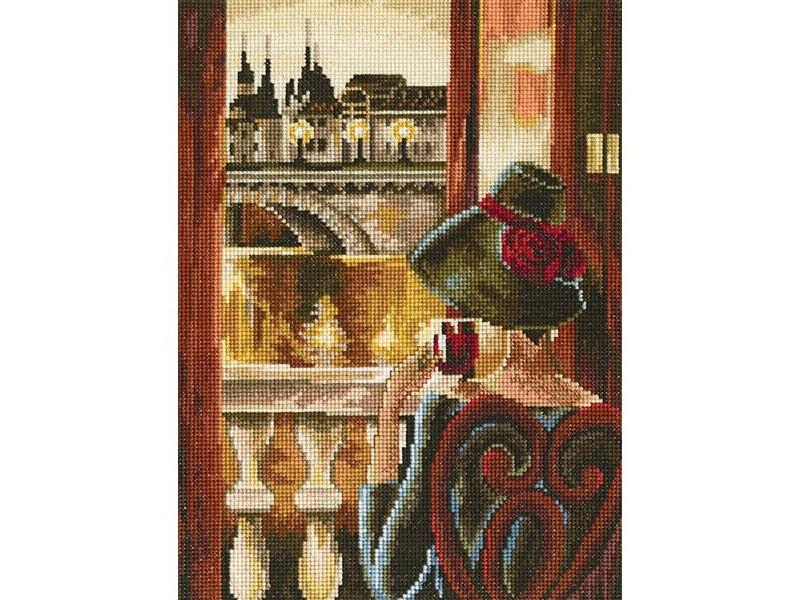 Набор для вышивания крестом RTO Комната с видом. Париж, 17 х 23 см544440Красивый рисунок-вышивка, выполненный на канве, выглядит оригинально и всегда модно. Работа, сделанная своими руками, создаст особый уют и атмосферу в доме и долгие годы будет радовать вас и ваших близких. Набор для вышивания содержит все необходимые материалы. Вышивка выполняется швом крест в две нити мулине из пучка в 6 нитей. Схема разработана по мотивам работы Триш Биддл. В состав набора входит: - канва Aida 16 бежевого цвета (100% хлопок, 6,4 клеток = 1 см, рисунок не нанесен), - вышивальные нитки-мулине DMC на карте, разобранные по цветам (45 цветов, 100% хлопок), - черно-белая символьная схема, - инструкция, - игла для вышивания.