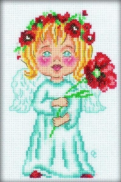 Набор для вышивания крестом RTO Цветок на счастье, 12 х 18 см677733Набор для вышивания крестом RTO Цветок на счастье поможет вам создать свой личный шедевр - красивую картину, вышитую нитками мулине в технике счетный крест. Работа, выполненная своими руками, станет отличным подарком для друзей и близких! Набор содержит: - белая канва Aida № 14 (хлопок) без рисунка, - мулине DMC (хлопок) - 18 цветов, - игла, - схема для вышивания, - инструкция на русском языке.