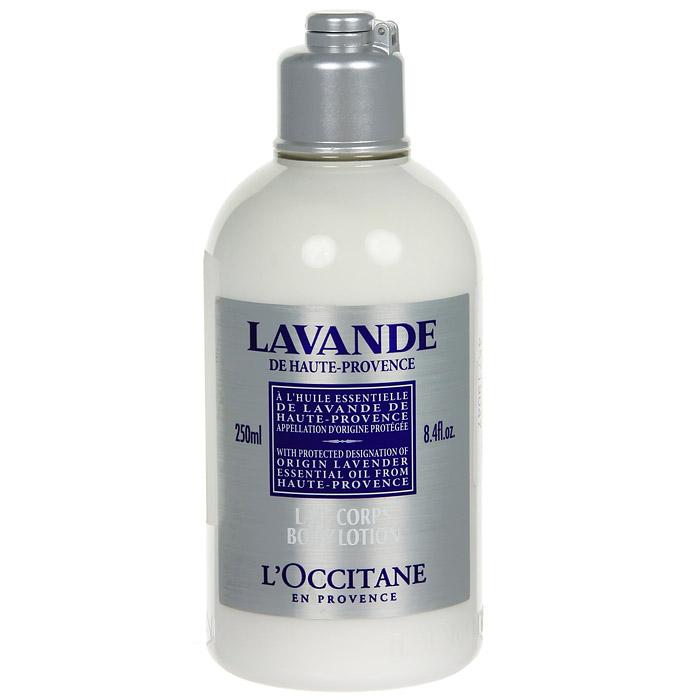 Молочко для тела LOccitane Лаванда, увлажняющее, 250 мл308103Молочко для тела LOccitane Лаванда содержит эфирное масло лаванды из Прованса, которое увлажняет, смягчает и оставляет свежий и легкий аромат на коже. Характеристики: Объем: 250 мл. Артикул: 308103. Производитель: Франция. Loccitane (Л окситан) - натуральная косметика с юга Франции, основатель которой Оливье Боссан. Название Loccitane происходит от названия старинной провинции - Окситании. Это также подчеркивает идею кампании - сочетании традиций и компонентов из Средиземноморья в средствах по уходу за кожей и для дома. LOccitane использует для производства косметических средств натуральные продукты: лаванду, оливки, тростниковый сахар, мед, миндаль, экстракты винограда и белого чая, эфирные масла розы, апельсина, морская соль также идет в дело. Специалисты компании с особой тщательностью отбирают сырье. Учитывается множество факторов, от места и условий выращивания сырья до времени и технологии сборки. Товар сертифицирован.