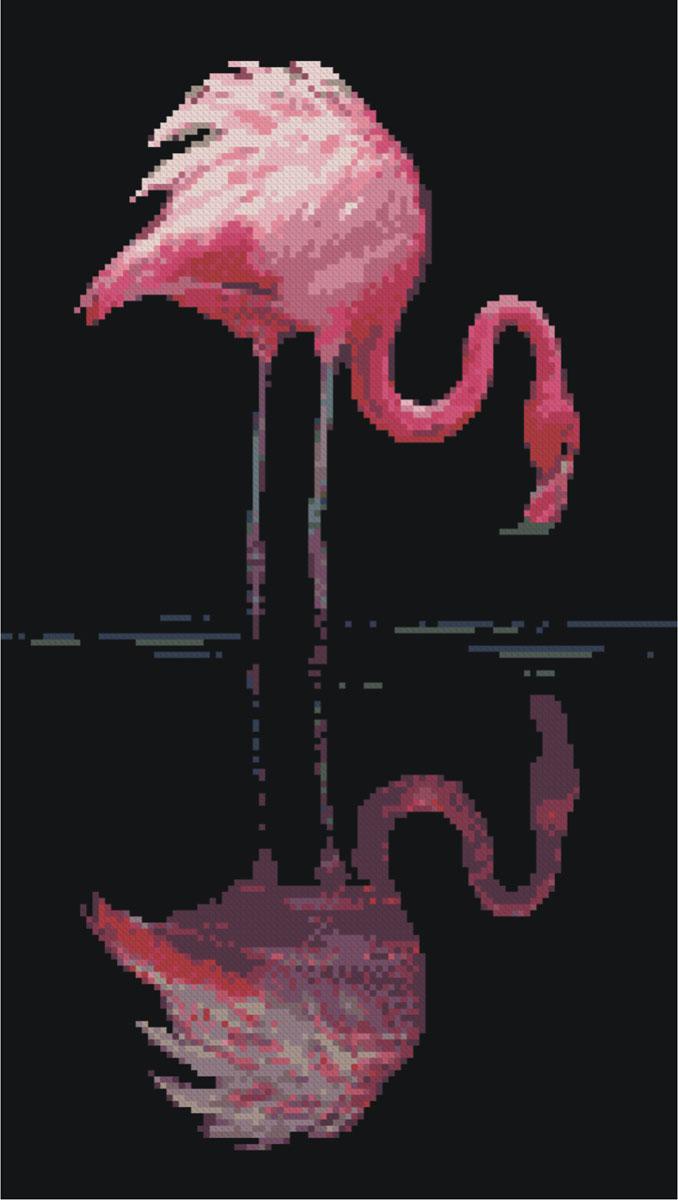 Набор для вышивания крестом Nitex Фламинго, 22 х 39 см7700723Красивый рисунок-вышивка, выполненный на канве, выглядит оригинально и всегда модно. Работа, сделанная своими руками, создаст особый уют и атмосферу в доме и долгие годы будет радовать вас и ваших близких. Набор для вышивания содержит все необходимые материалы. Рисунок вышивается швом счетный крест. Схема рассчитана на вышивку в 2 нити. В состав набора входит: - канва №14 черного цвета (100% хлопок, рисунок не нанесен), - нитки-мулине (19 цветов, 100% хлопок), - символьная схема, - инструкция, - игла для вышивания с позолоченным ушком.