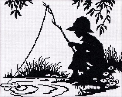 Набор для вышивания крестом Nitex Рыбачок, 23 см х 18 см. 77027357702735Набор для вышивания крестом Nitex Рыбачок поможет вам создать свой личный шедевр - красивую картину, вышитую нитками мулине в технике счетный крест. Работа, выполненная своими руками, станет отличным подарком для друзей и близких! Набор содержит: - канва №18 белого цвета без рисунка (100% хлопок), - мулине (1 цвет, 100% хлопок), - игла для вышивания, - схема для вышивания, - инструкция на русском языке.