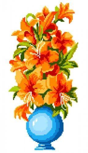 Набор для вышивания крестом Maestra Лилии, 22 х 32 см7703804Набор для вышивания Maestra Лилии поможет вам создать свой личный шедевр - красивую картину, вышитую в технике крест. Вышивание отвлечет вас от повседневных забот и превратится в увлекательное занятие! Работа, сделанная своими руками, создаст особый уют и атмосферу в доме и долгие годы будет радовать вас и ваших близких, а подарок, выполненный собственноручно, станет самым ценным для друзей и знакомых. В набор входят: - канва Aida 14 белая с нанесенным рисунком, - нитки мулине (13 цветов), - игла.