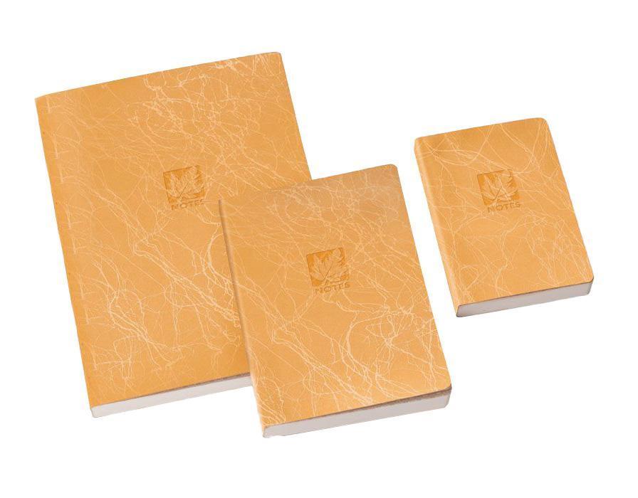 книга для записей, B7, SCRIBBLE, линейка, цвет: оранжевый29813