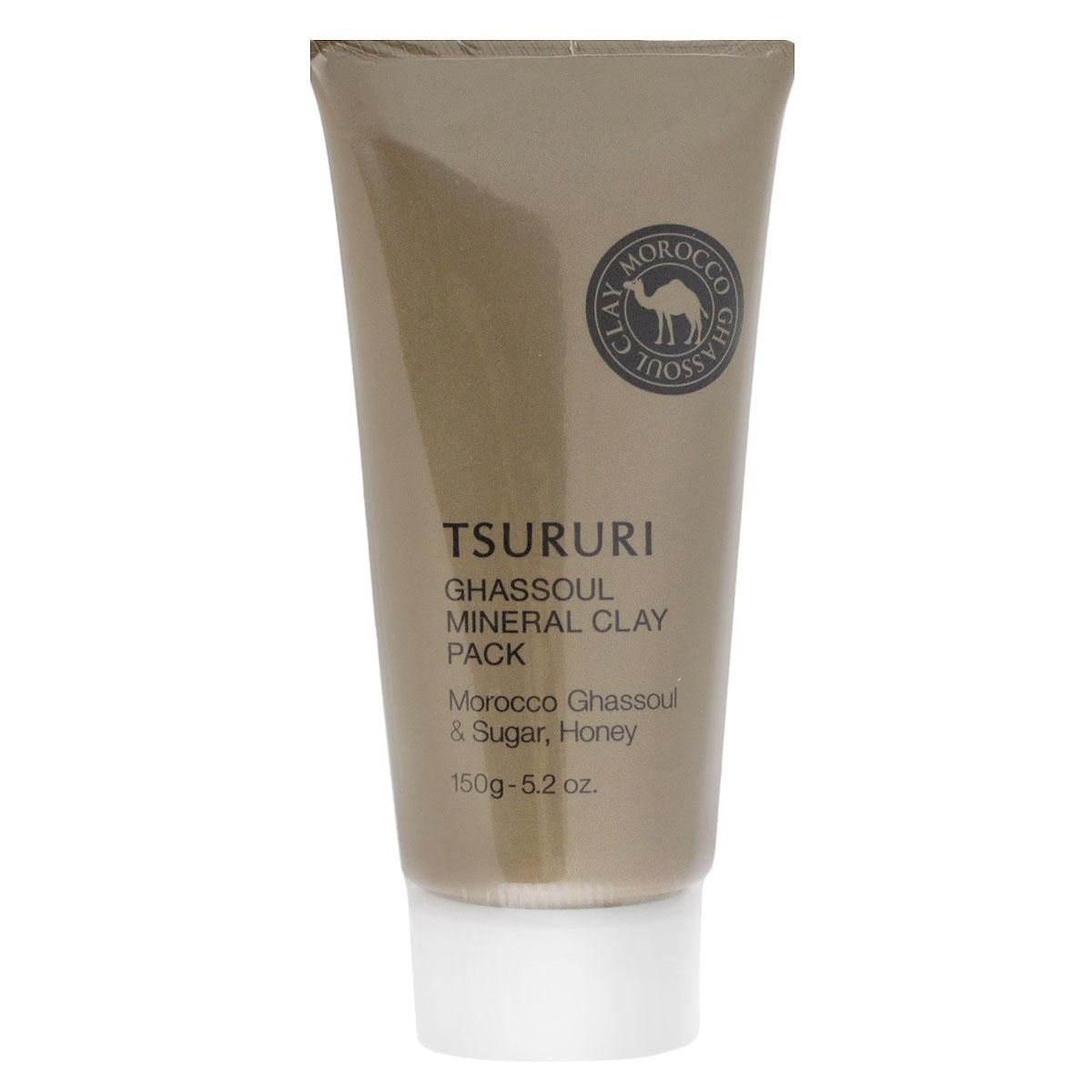 BCL Крем-маска для лица Tsururi, с глиной, 150 г046592Маска для лица с каолином и марокканской глиной Гассуль прекрасно очищает поры кожи от загрязнений, излишков кожного сала и ороговевших клеток эпидермиса. Тусклая кожа заметно светлеет, становится гладкой, без загрязненных расширенных пор и черных точек. Комбинация из натуральных минеральных компонентов – каолина, марокканской глины Гассуль, масла арганы и растительных экстрактов нежно и бережно ухаживает за кожей. Исключительные абсорбирующие свойства глины Гассуль помогают крем-маске глубоко проникнуть в поры кожи и удалить самые глубокие загрязнения. Маска мягко очищает кожу, минерализуя и восстанавливая ее структуру. Мед и маточное молочко ухаживают за кожей, делая ее мягкой и шелковистой. После снятия маски рекомендуется сделать легкий массаж кожи лица с помощью любого питательного крема. Не содержит искусственных красителей. Имеет естественный оттенок глины. Товар сертифицирован.
