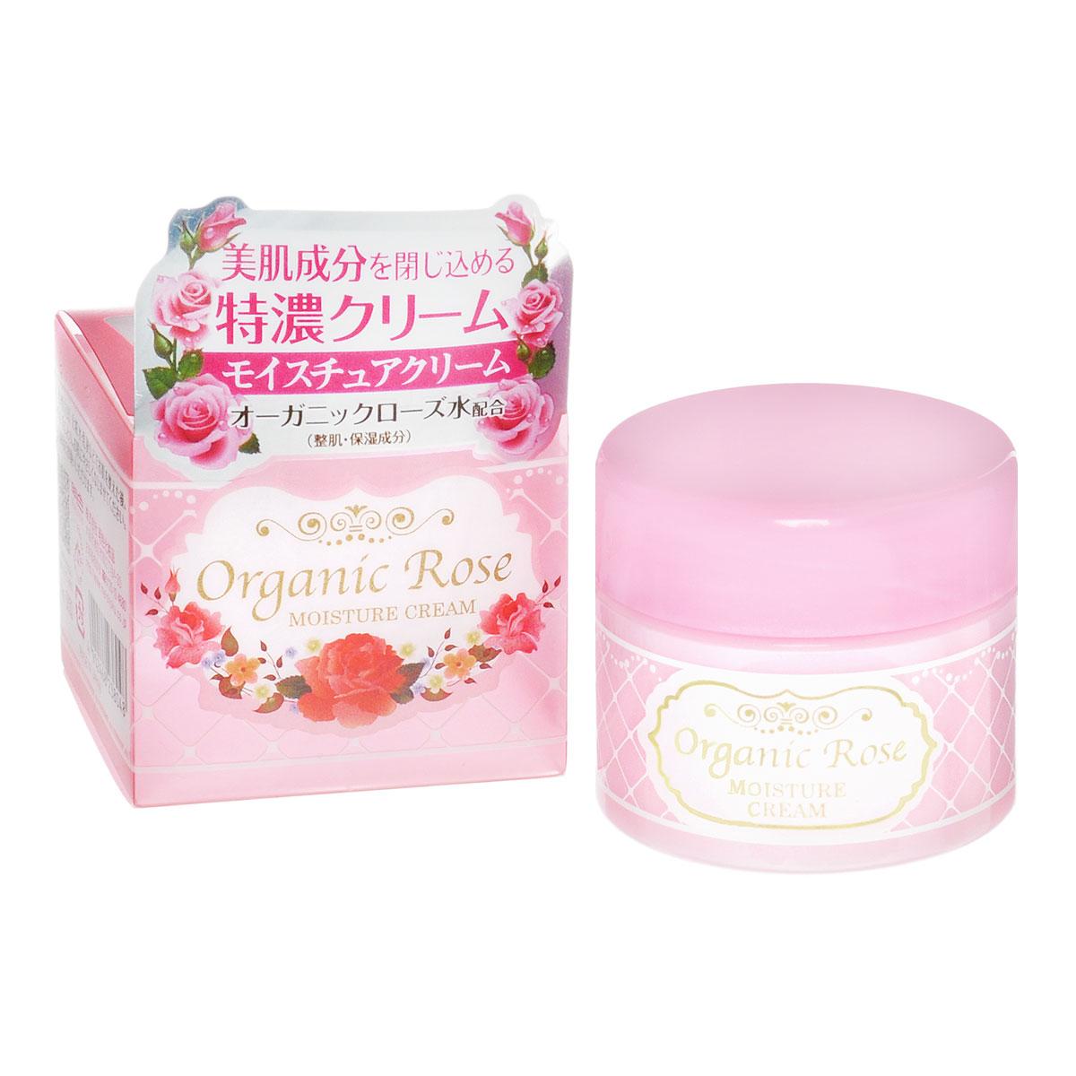 Meishoku Крем для лица Organic Rose, увлажняющий, с экстрактом дамасской розы, 50 г238048Насыщенный увлажняющий крем эффективно защищает кожу от проблем, связанных с сухостью, восстанавливая защитный барьер и создавая невидимую пленку. Делает кожу упругой и эластичной. В состав крема входит экстракт ячменя, удерживающий влагу в коже, масло Ши –защитный компонент, а также цветочную воду дамасской розы - компонент, нормализующий состояние кожи. Экстракт дамасской розы освежает и тонизирует уставшую кожу, насыщает ее витаминами. Товар сертифицирован.