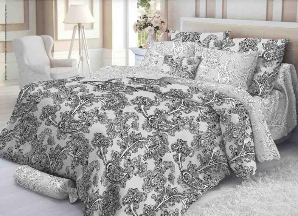 Комплект белья Verossa Сатин рисунок Grace 2,0СП4600001805602Комплект постельного белья Verossa «Grace» — это превосходное, стильное бельё, предназначенное для тех, кто любит и ценит себя и свой комфорт. Оно изготовлено из 100% хлопковой ткани - сатина, благодаря высокому номеру пряжи, атласному переплетению, а также высокой плотности ткани, сатин является невероятно мягкой и гладкой тканью с особым блеском, а также высокой прочностью. Комплект постельного белья Verossa «Grace» — признак хорошего вкуса и практичности. Пошив на автоматической линии – гарантия соблюдения точности размеров изделий. Высокое качество тканей – гарантия легкости и долговечности эксплуатации белья: ткани не линяют, не садятся, не пилингуются. Качественная упаковка продукта – привлекательный внешний вид, возможность использовать продукт как подарок.