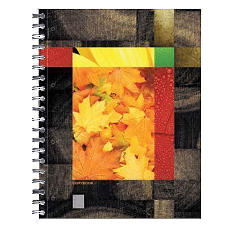 Тетрадь А4 120л Eco-Texture, жесткий ламинат (глянцевый), кленовые листы33кленовые листытетрадь А4 120л Eco-Texture, жесткий ламинат (глянцевый), кленовые листы