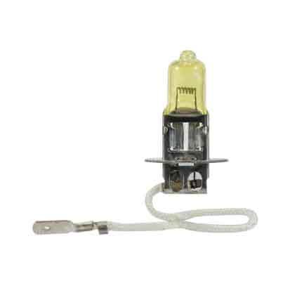 LYNXauto L20370Y лампа галогеновая H3 24V 70W PK22S YELLOW